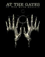 AT THE GATES cd cvr AT WAR WITH REALITY Official TOUR SHIRT XXL 2X new