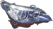 BMW E60 E61 5 SERIES 2004-2007 HEADLIGHT NEW  WITH WASHER COVER DRIVERS SIDE