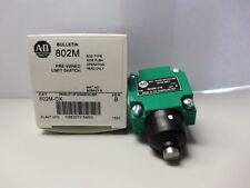 New Allen Bradley 802M-CX Pre-Wired Limit Switch Head Series B NIB