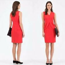 Country Road Moulded Peplum Dress Red Cocktail Party Size 4