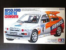 Nostalgic ! TAMIYA 1/24 REPSOL FORD ESCORT RS COSWORTH Steal & Rare !