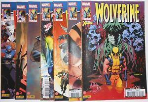 Comics : Lot de 7 Wolverine Panini Numéros 5 à 11 Marvel 2013