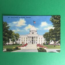 State Capital Montgomery Alabama Unposted Postcard