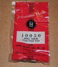 Vintage James Millen 10050 Dial Lock Front Panel Type Captive Head New Old Stock