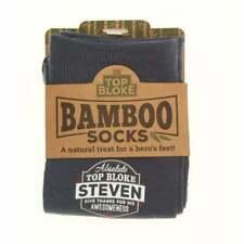 History & Heraldry Personalised Bamboo Socks - Steven 00208040227