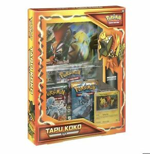 POKEMON TCG: TAPU KOKO INTERNATIONAL BOX NEW Factory Sealed