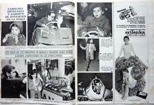 CAROLINE STEPHANIE ALBERT DE MONACO => COUPURE DE PRESSE Espagnole VINTAGE 1968