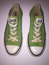 Converse All Star Green Canvas Chuck Taylor Lo Top Sneakers Sz 6 Womens Mens 4