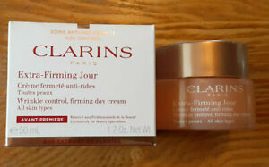 Clarins Sealed Extra-Firming Jour Day Cream All Skin Types 1.7 oz Moisturizer