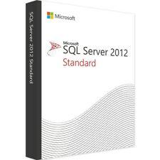 SQL Server 2012 Standard Activation Key - Instant Delivery Trusted Seller