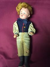 Composition Boy Doll In Russian Costume