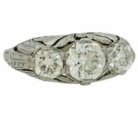 Womens 925 Silver Round Cut White Sapphire Wedding Engagement Ring Jewelry #6-10