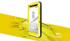 Coque Sony Xperia Z5 Etanche et Antichoc -love Mei France -jaune