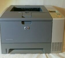 HP LaserJet 2420dn Workgroup Network Laser Printer w/ new toner installed