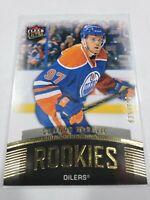 15/16 Fleer Ultra Edmonton Oilers Connor McDavid Rookies RC card #U1 Ltd #/699
