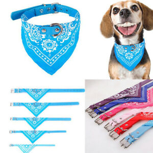 Dog Bandana Bibs Scarf Collar Pet Neckerchief Scarf Saliva for Small Large Dogs