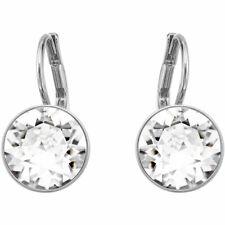 Swarovski  Bella Pierced Earrings Silver  NIB # 5085608