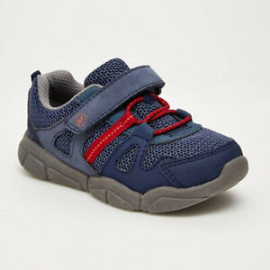 NWB Surprize by Stride Rite Rusty Toddler Boy's Sneaker Shoes Navy Size 5M