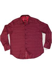 Robert Graham Button Long Sleeve Shirt Patterned Red Size XL