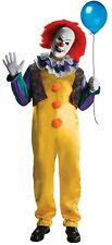 Adult Deluxe Pennywise The Clown Scary Horror It Circus Halloween Costume 881562
