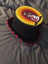 Native American beaded top hat regalia steampunk pow wow regalia