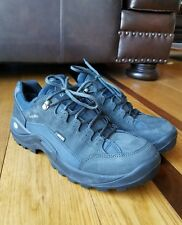 Lowa Womans Renegade II GTX LO Navy Suede Gore-Tex Vibram Hiking Shoe US Size 11