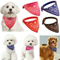 Cute Pet Bandana Scarf Collar for Dog Cat Style Leather 3 Colors Dogs Puppies