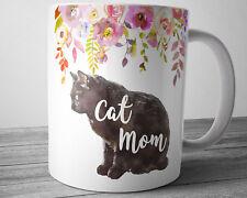 CAT MOM Mug CAT Lovers Coffee Mug 11 oz Ceramic Coffee Cup CAT Gift