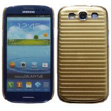 Línea de Metal Aluminio Trasera Dura Funda Para Samsung Galaxy S3 SIII i9300 UK