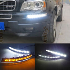 2pcs LED Daytime Running Light for Volvo XC90 2007-2013 DRL Fog Lamp Turn Signal