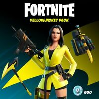 Fortnite - The Yellowjacket Pack | Xbox One | CODICE DOWNLOAD