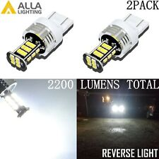 Alla Lighting 7440 30-LED Back Up Light Bulbs Reverse Backup Lamps,Xenon White
