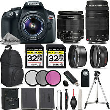 Canon EOS REBEL T6 DSLR Camera with Canon 18-55mm IS Lens +Canon 75-300 III