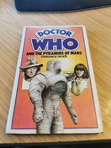 DOCTOR DR WHO ALLAN WINGATE HARDBACK - THE PYRAMIDS OF MARS EX LIB
