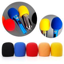 5Pcs Colorful Sponge Foam Microphone Windscreen Pop Filter Mic Cover Wind Shield