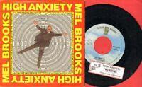 Brooks, Mel - High Anxiety Vinyl 45 rpm record PS Free Shipping