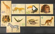 - Polen Poland 1972 Mi. Nr. 2162-2170 ** postfrisch MNH fauna