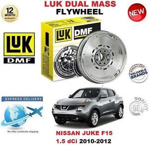 FOR NISSAN JUKE F15 1.5 dCi 2010-2012 ORIGINAL LUK DMF DUAL MASS FLYWHEEL