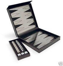 Sagaform:backgammon de viaje en acero inoxidable (paquete regalo)