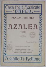 1930 MALY AZALEA DORA SPARTITI MUSICA ORCHESTRA MUSIC