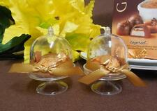 Mini Cake Holder with Dome Party Favor (60 Pieces)
