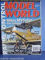 RCMW RC MODEL WORLD OCTOBER 1996 MILES M1 SATYR SKYRAY LES SMITH BRUCE BAKER