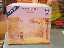 """DIETRICH BUXTEHUDE """" ORGELWERKE - ORGAN WORKS """" 3 CD - ROYAL CONCERTO SERIES"""