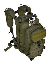 Outdoor Military Tactical Assault Backpack with Molle - Bug-Out-Bag - OD