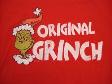 Dr. Seuss How The Grinch Stole Christmas Movie Distressed T Shirt M