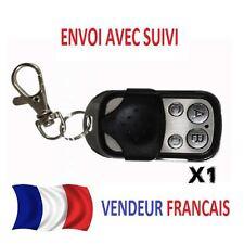 1X TELECOMMANDE UNIVERSELLE CLONE EUROMATIC TX433 porte de Garage Portail 433mhz