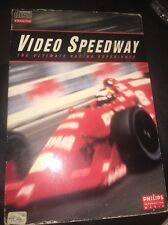 VIDEO SPEEDWAY PHILIPS INTERACTIVE CDI EX+NR MINT CONDITION LONG CASE COMPLETE!
