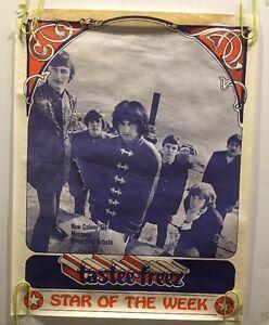 New Colony Six Tastee Freez Poster Vintage Original Pin-up 1960s Mercury Music