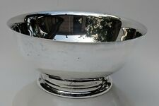 Silverplate Footed Pedestal Bowl 8 in
