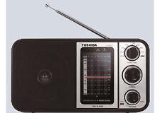 ***NEW*** TOSHIBA TY-HRU30 FM/AM/SW (Shortwave)/USB Radio 220V